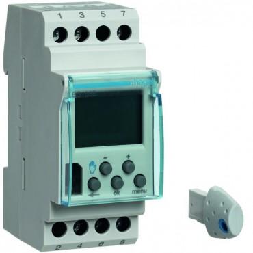Programator cyfrowy 1P 16A 230V AC 2 modułowy tygodniowy EG103E