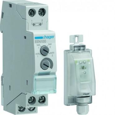 Wyłącznik zmierzchowy z czujnikiem EE003 16A 230V 5-100/50-2000lx EEN100