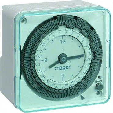 Zegar dobowy 1P/16A 230V 1moduł kompaktowy, analogowy EH710