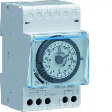 Programator analogowy 16A 230V AC dobowy jednokanałowy EH110