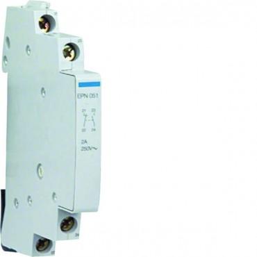 Styk pomocniczy 2A 24-230V AC 1Z+1R do wyłącznika impulsowego EPN051