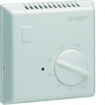 Regulator temperatury bimetalowy 230V 10A 5-30°C IP30 biały EK053