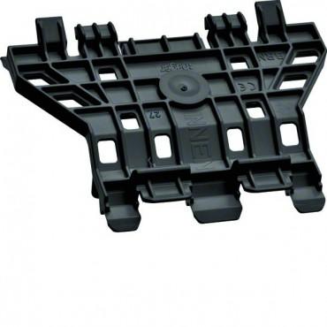 Nośnik pokryw kanału systemu BRN czarny G1607R