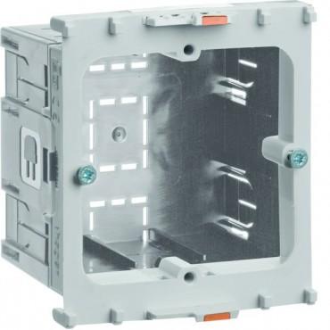Puszka montaż frontalny tehalit HxWxL 40x64x71mm szara GLT4001