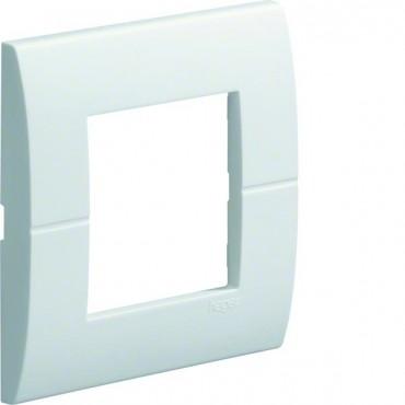 Ramka pojedyncza 45x45 biała do kanałów osprzętowych GT4519010