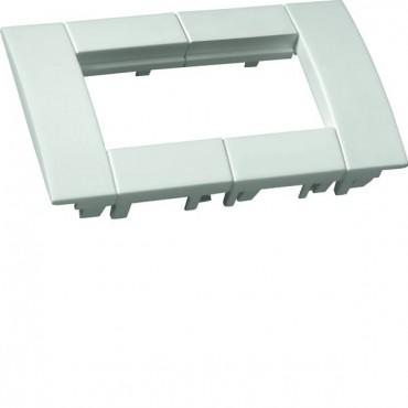 Ramka podwójna 45x45 biała do kanałów osprzętowych GT4529010