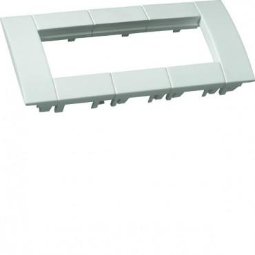 Ramka potrójna 45x45 biała do kanałów osprzętowych GT4539010