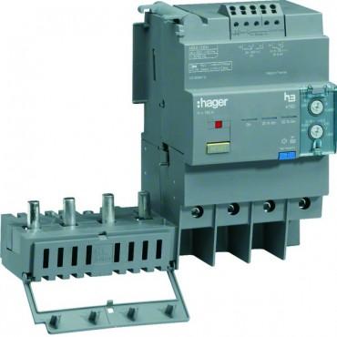 Blok różnicowoprądowy 4P 125A regulowany HBA126H