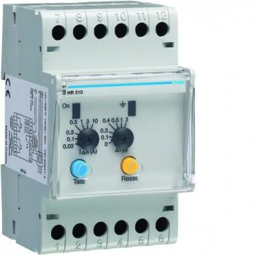 Przekaźnik różnicowoprądowy 0,03-10A 0-3sek HR510