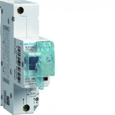 Wyłącznik nadprądowy selektywny 1P E 40A 25kA SLS HTN140E