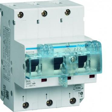 Wyłącznik nadprądowy selektywny 3P Cs 16A 25kA SLS TS35 HTN316C