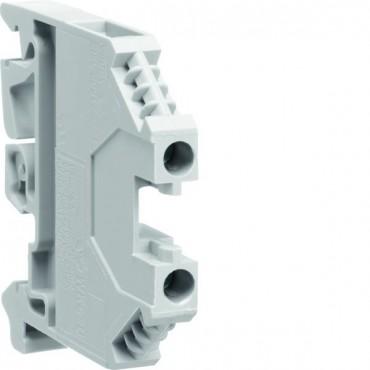 Zacisk szeregowy instalacyjny fazowy 4mm2 polamidowy szary KXA04LH