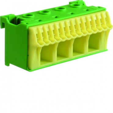 Blok samozacisków 63A QC zielony 18 przyłączy 33x75x75mm KN18E
