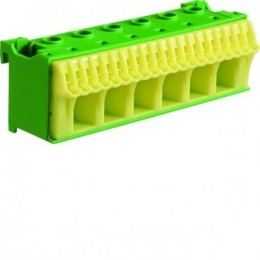 Blok samozacisków 63A QC zielony 26 przyłączy 33x105x105mm KN26E