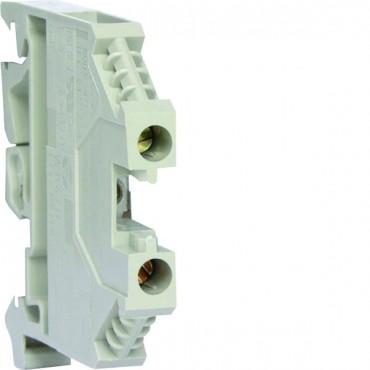 Zacisk szeregowy instalacyjny fazowy 2,5mm2 szary KXA02LH