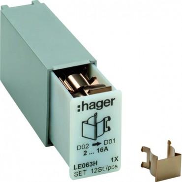 Sprężyna redukcyjna do bezpiecznikówD02/D01 L063M/L7XM 12szt. LE063H