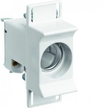 Gniazdo bezpiecznikowe na szynę 1P 63A D02 400V DIN D0 3278 D02/E18 LD02K63-1KS
