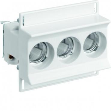 Gniazdo bezpiecznikowe na szynę 3P 63A D02 400V DIN D0 3278/3 VR D02/E18 LD02K63-3KS