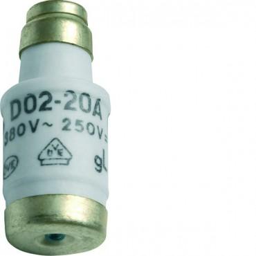 Wkładka bezpiecznikowa BiWtz 20A D02 gG 400V LE1820