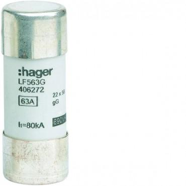 Bezpiecznik cylindryczny BiWtz 22x58 gG 63A LF563G