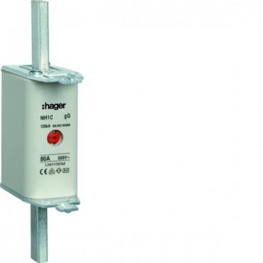 Wkładka bezpiecznikowa NH1C 80A 500V gG LNH1080M