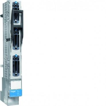 Rozłącznik bezpiecznikowy listwowy NH00 3P hakowy rozstaw 60mm, zacisk M8LVS0060SPX