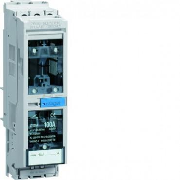 Rozłącznik bezpiecznikowy skrzynkowy 1P NH000 100A na szyny CU 40mm LT0054