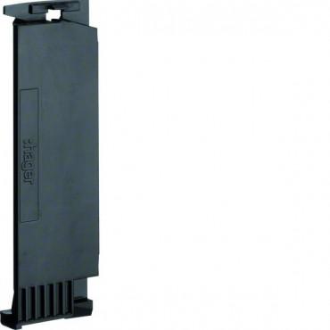 Klamra do kanału LFF 110mm czarna M5429 /10szt./