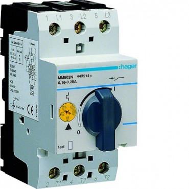Wyłącznik silnikowy 3P 0,06kW 0,16-0,24A MM502N