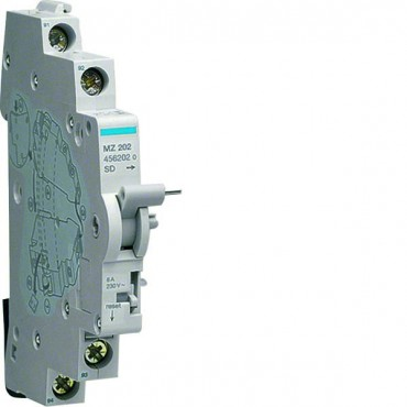 Styk sygnalizacyjny 230V 6A 1Z+1R do wyłącznika nadmiarowoprądowego MZ202
