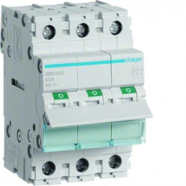 Rozłącznik modułowy 40A 3P SBN340