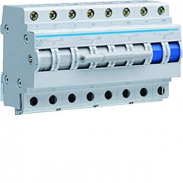 Przełącznik modułowy sieć-agregat 4P 63A SF463