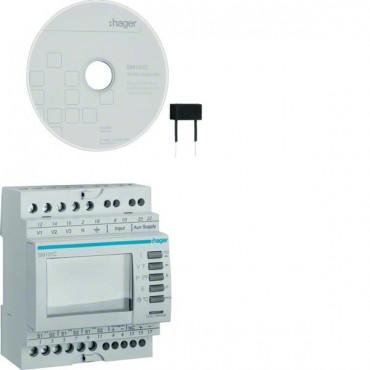 Miernik wielofunkcyjny modułowy komunikacja RS485 Jbus/Modbus SM101C