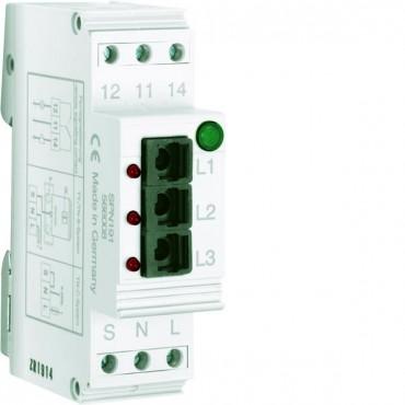 Ogranicznik przepięć z bezpiecznikiem 1P 75kA 255V AC 3,5kV SPN191