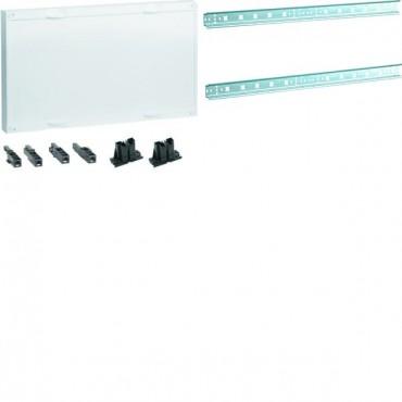 Zestaw z pokrywą pełną z szynami TS35 dla zacisków szeregowych Univers N HC 300x500mm UC22RK