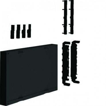Blok dla szyn zbiorczych poziomych 12/20/30x5/10mm rozstaw 60mm 4-biegunowy 300x500x125mm Univers N UE22E0