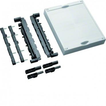 Blok dla szyn zbiorczych poziomych 12/20/30x5/10mm 60mm 4P 300x250x125mm Univers N UE21E0