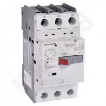 Wyłącznik silnikowy 3P 0,45kW 1-1,6A MPX3 32S 417305