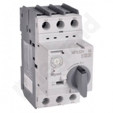 Wyłącznik silnikowy 3P 2,2kW 4-6A MPX3 32H 417328