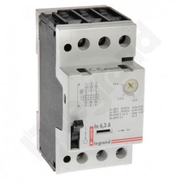 Wyłącznik silnikowy 3P 2,5kW 4-6,3A M 250 6,3 606808