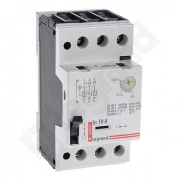 Wyłącznik silnikowy 3P 4kW 6,3-10A M 250 10 606809