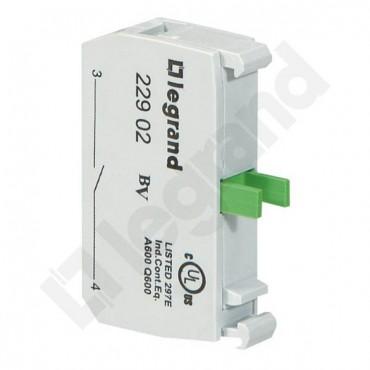 Styk pomocniczy 1Z montaż od góry 022902
