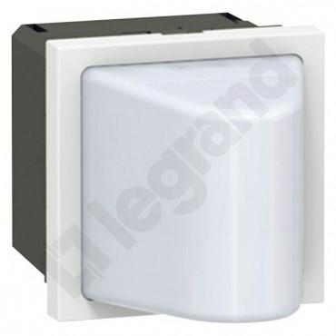 MOSAIC Lampka sygnalizacyjna trójkątna biała 12-24V/DC 0,6W 078561