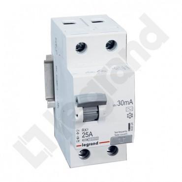 Wyłącznik różnicowoprądowy 2P 25A 0,03A typ AC P302 RX3 402024