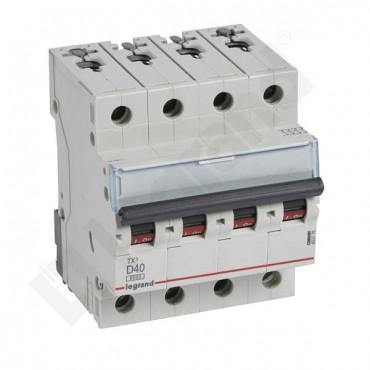 Wyłącznik nadprądowy 4P D 40A 6kA AC S304 TX3 403776