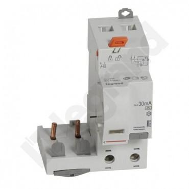 Blok różnicowoprądowy PR 302 2P 63A 0,03A TYP A DX3 410429