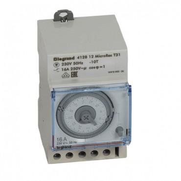 Programator analogowy 16A 250V dobowy jednokanałowy MicroRex 412812