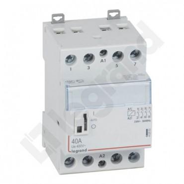 Stycznik modułowy 40A 4Z 0R 230V AC SM340 /z manipulatorem/ 412553