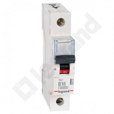 Wyłącznik nadprądowy 1P B 16A 10kA AC S311 TX3 404084
