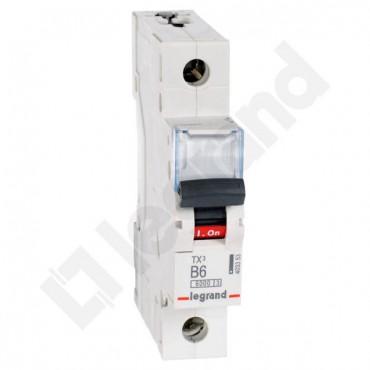 Wyłącznik nadprądowy 1P B 6A 6kA AC S301 TX3 403353